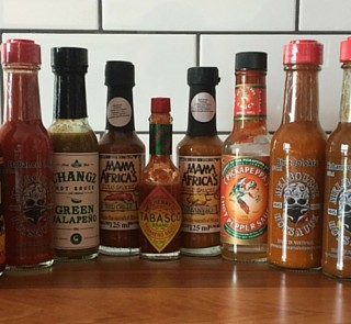Hot Sauce Group Shot
