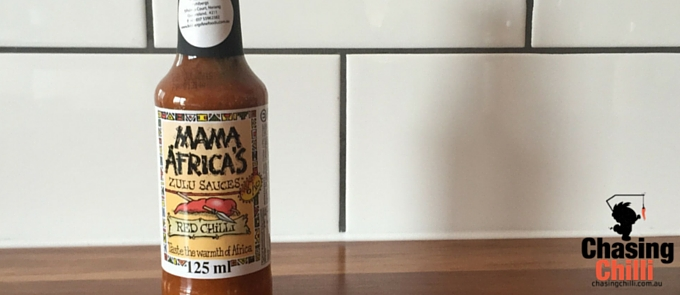 Mamas Africa Red Hot Chilli Sauce