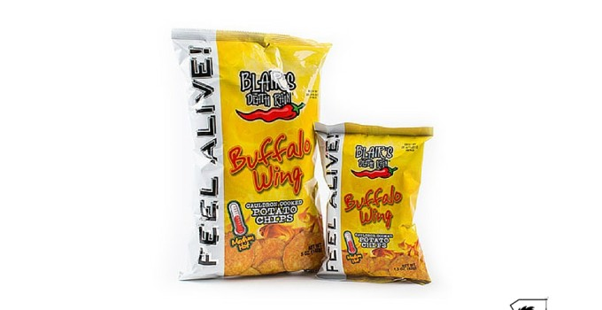 Blair's Death Rain Buffalo Wing Chips Review