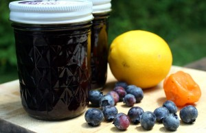 Blueberry, Lemon, and Chile Jam