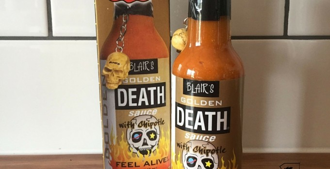 Blair's Golden Death Sauce With Chipotle Review