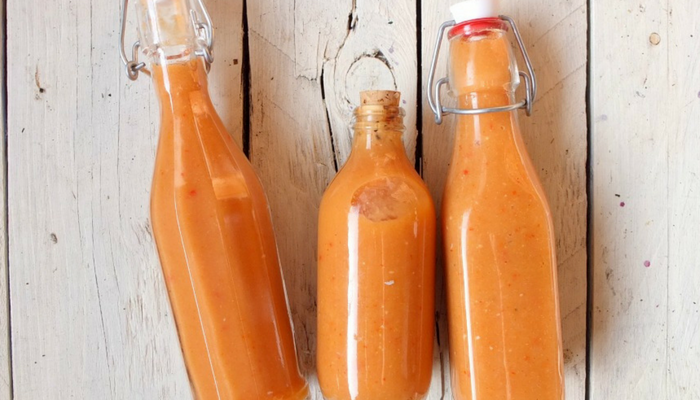 Quince and Scotch Bonnet Hot Sauce